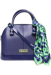 Bolsa Petite Jolie J-Lastic Alisha Bag Feminina - Feminino-Azul+Verde