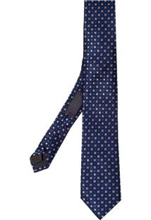 Gravata Lisa 3 7Cm (Azul Escuro, Un)