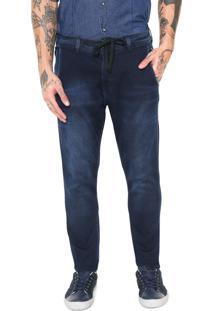 Calça Jeans Jogger Replay Estonada Azul