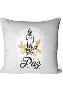 Capa De Almofada Love Decor Avulsa Decorativa Paz - Off-White - Dafiti