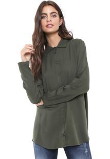 Camisa Triton Lisa Verde