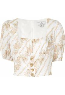 We Are Kindred Blusa Bronte Com Bustier - Branco