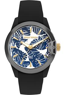 Relógio Mormaii Analógico Mo2035In-8D Feminino - Feminino-Preto+Azul
