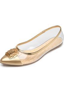 848f6fc01d Sapatilha Colcci Dourada feminina