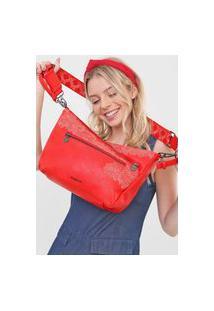 Bolsa Transversal Across Body Bag Melody Vermelho