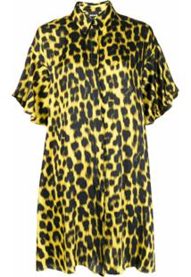 Just Cavalli Chemise Com Animal Print - Amarelo