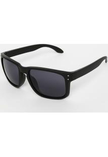 Óculos De Sol Retangular - Pretocavalera