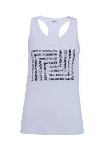 Camiseta Regata Memo Nadador Print - Feminina - Branco