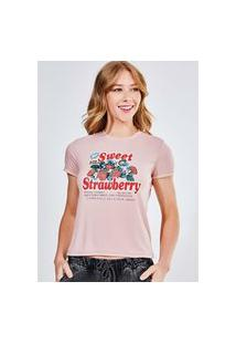 Camiseta Sweet Strawberry