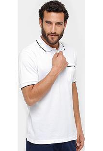 Camisa Polo Broken Rules Piquet Bolso Masculina - Masculino