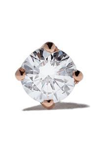 Vanrycke Brinco Único Valentine De Ouro Rosé 18K Com Diamante - Rose Gold