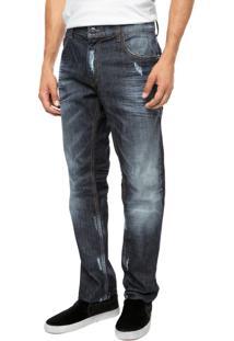 Calça Jeans Ellus Reta Premium Azul