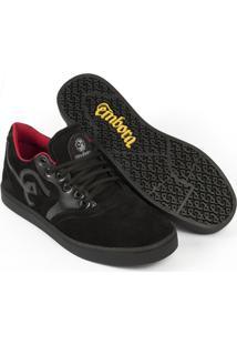 Tênis Embora Footwear Supremo Masculino - Masculino-Preto
