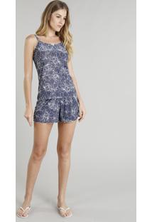 947ddbde2 Short Doll Alcas Azul Marinho feminino