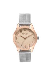 Relógio Condor Feminino Color Mix Rose Analógico Co2036Kvu4J