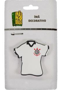 Imã Corinthians Camisa Branca - Unissex
