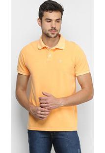 Camisa Polo Derek Ho Tinturada Piquet Básica Masculina - Masculino