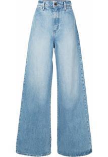 Nobody Denim Calça Jeans Pantalona Leila - Azul