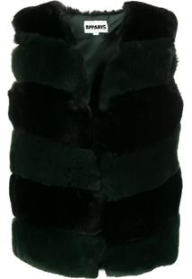 Apparis Ritana Faux Fur Padded Vest - Preto
