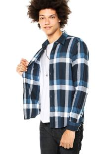 Camisa Ellus 2Nd Floor Michael New Classic French Azul