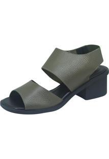 Sandália S2 Shoes Débora Verde Militar
