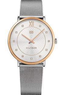 3f5b2e35c2c Relógio Digital Azul Tommy Hilfiger feminino