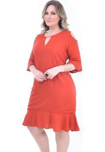 Vestido Plus Size Tulip: Telha: 48