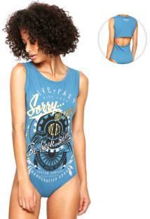 Body My Favorite Thing(S) Recorte Azul