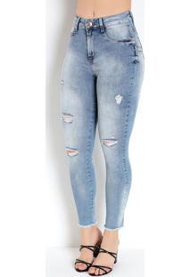 Calça Jeans Clara Levanta Bum Bum Sawary