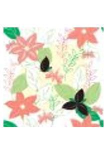 Papel De Parede Autocolante Rolo 0,58 X 3M - Floral 1144