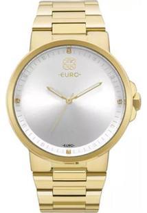 Relógio Feminino Euro Analógico Eu2035Yld/4B - Unissex-Dourado