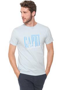 Camiseta Yacht Master Capri Island Azul