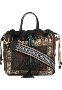 Etro Patterned Shoulder Bag - Preto