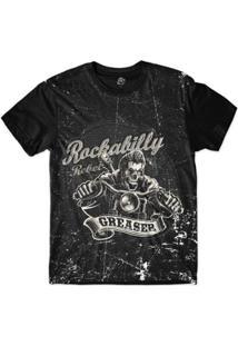 Camiseta Bsc Motoqueiros Rebelde Sublimada Masculina - Masculino