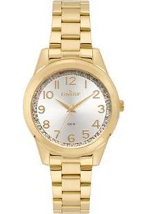 Relógio Condor Fashion Feminino - Feminino-Dourado