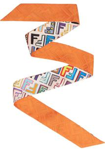 Fendi Cachecol De Seda 'Fun Wrappy' - Estampado