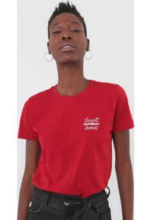 Camiseta Element Branded Fitted Vermelha