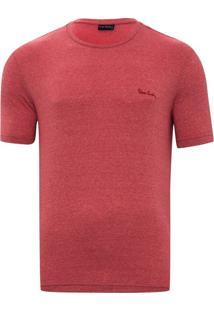 Camiseta Vermelha Mesclada