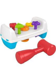 Brinquedo Para Bebê Banquinho De Atividades - Unissex-Colorido