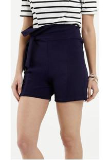 Short Feminino Clochard Textura