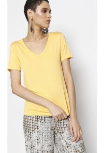 Camiseta Com Inscrição Lez®- Amarelalez A Lez