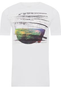Camiseta Ckj Estampa E Releov - Branco
