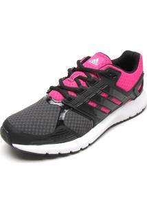 tenis adidas rosa com preto