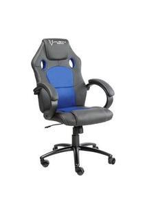 Cadeira Gamer Husky Gaming Snow, Preto E Azul, Cilindro De Gás Classe 4, Base Em Metal, Roda Em Nylon - Hsn-Bb
