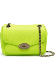 Mulberry Small Darley Leather Shoulder Bag - Verde