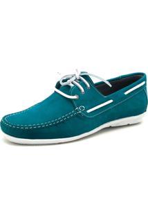 Sapato Mocassim Atron Shoes Dockside 572 Azul
