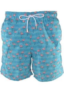 Short Bidoo Flamingos - Masculino