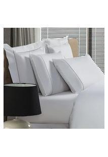 Fronha Avulsa Plumasul Premium Clean 230 Fios 50X70Cm Branca