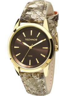 Relógio Technos Trend Feminino Analógico - 2035Mcs/2M 2035Mcs/2M - Feminino-Dourado
