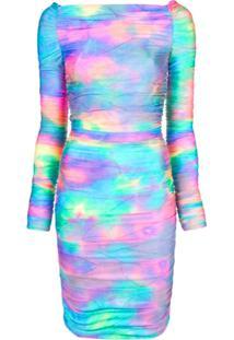 Sies Marjan Vestido Jolene Tie-Dye Com Brilho - Estampado